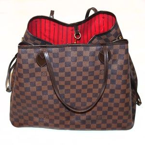 ❤️Louis Vuitton Neverfull GM damier tote bag